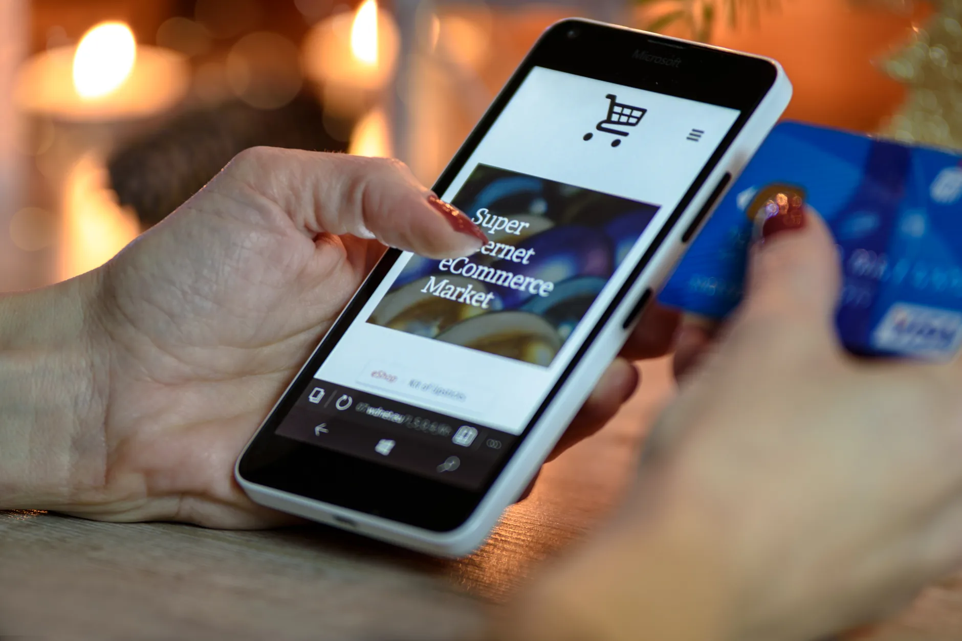 E-commerce marketplaces often come with mobile applications that can be useful in reaching out to potential customers on the go.