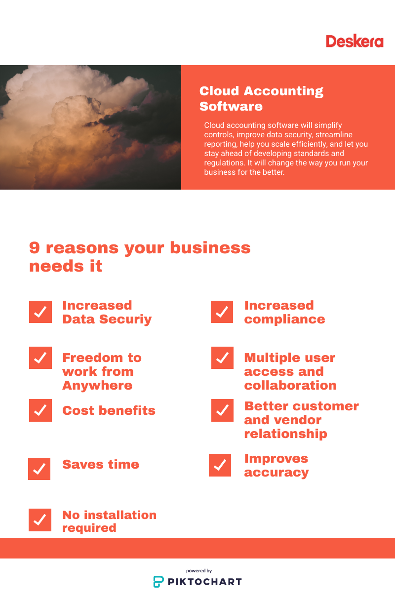 9 reasons for your business to move to a cloud based accounting software