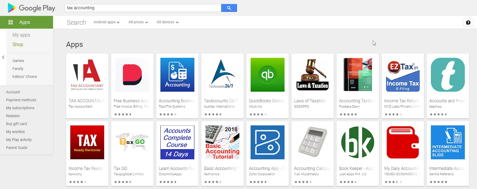 Deskera #1 on the Google Play Store