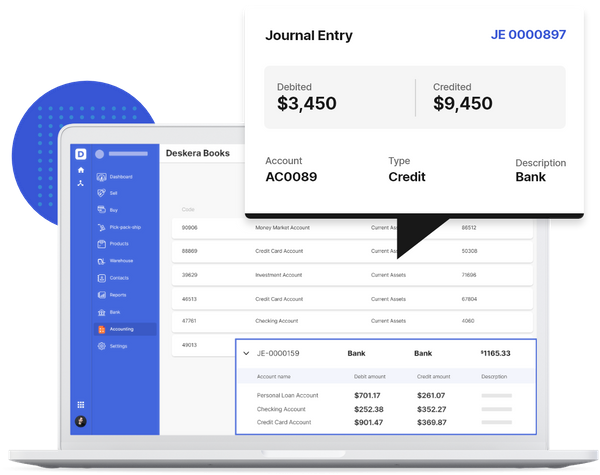 Automatic Business Prepaid Expense Journal Entries with Deskera