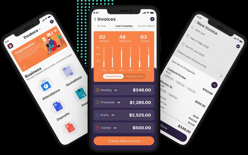 Deskera Mobile App