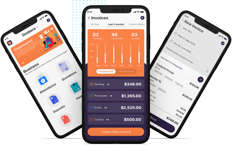 Deskera Mobile App - What Type of Account Is Unearned Revenue