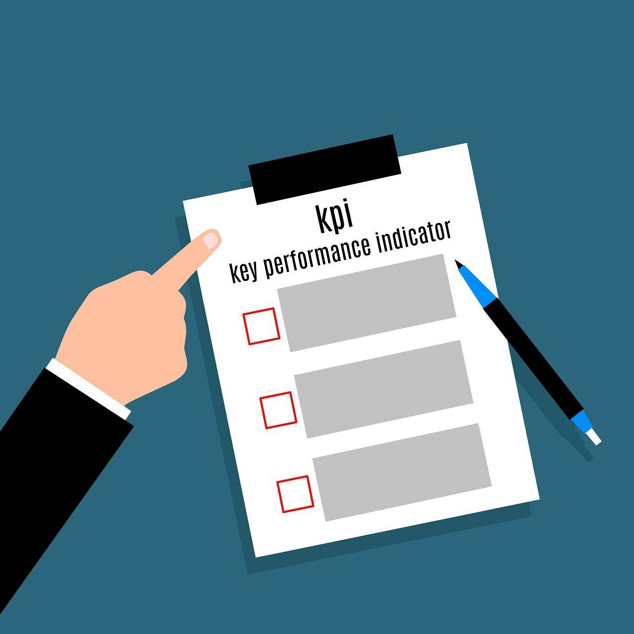 KPIs or Key Performance Indicators are used to measure the performance of any business