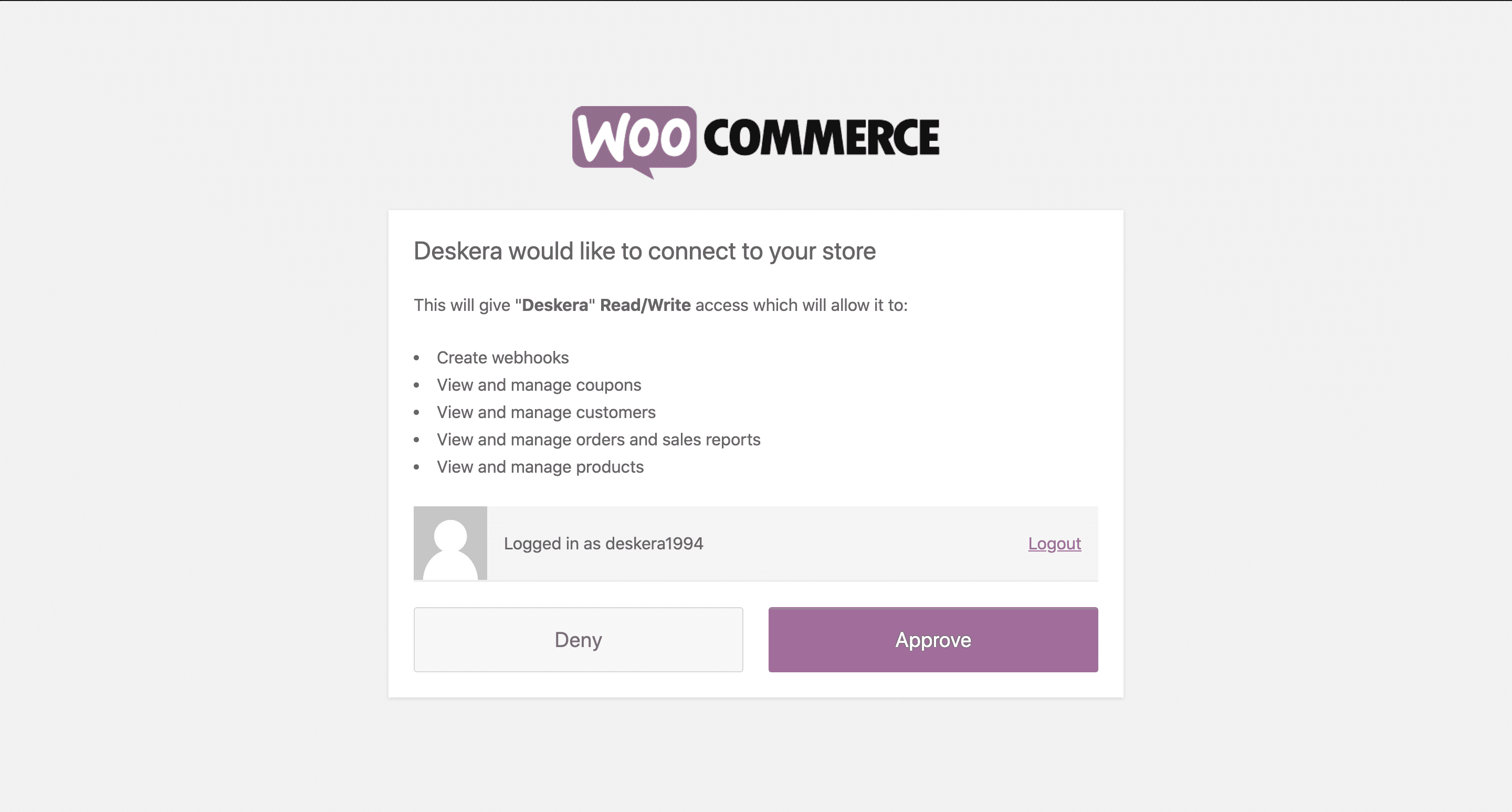 WooCommerce accounting integration with Deskera. Connect your WooCommerce store with Deskera for integrated accounting, tax, inventory and payments