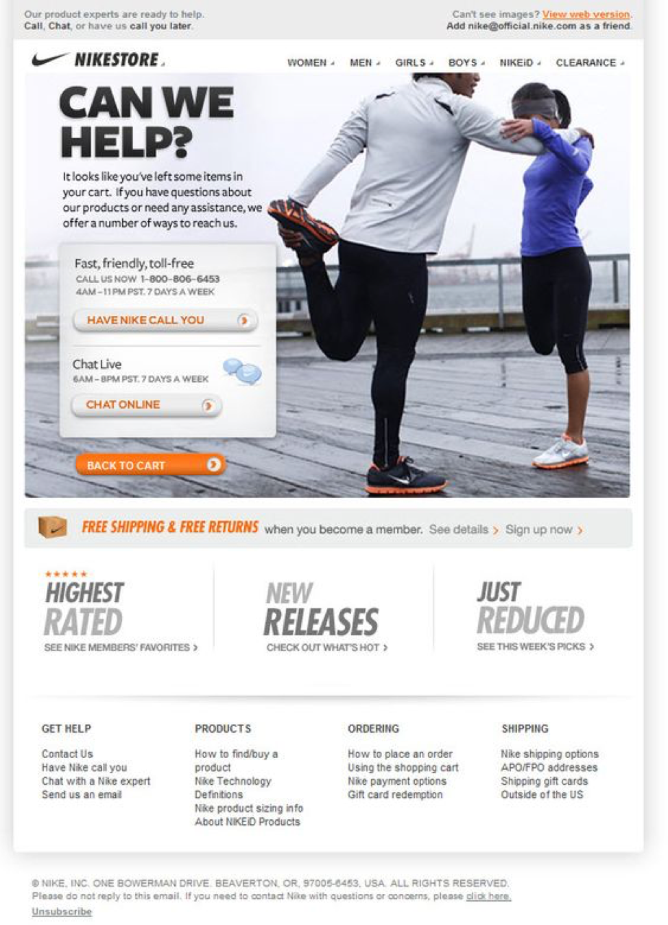 Newsletter Sign Up - Email Retargeting