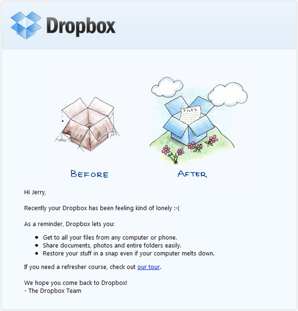 Re-engagement Email Marketing Template