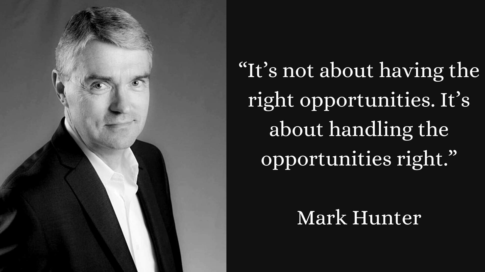 Quote by Mark Hunter