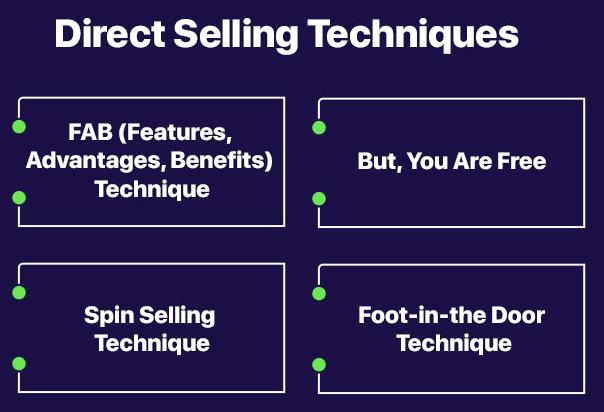 Direct Selling Tactics