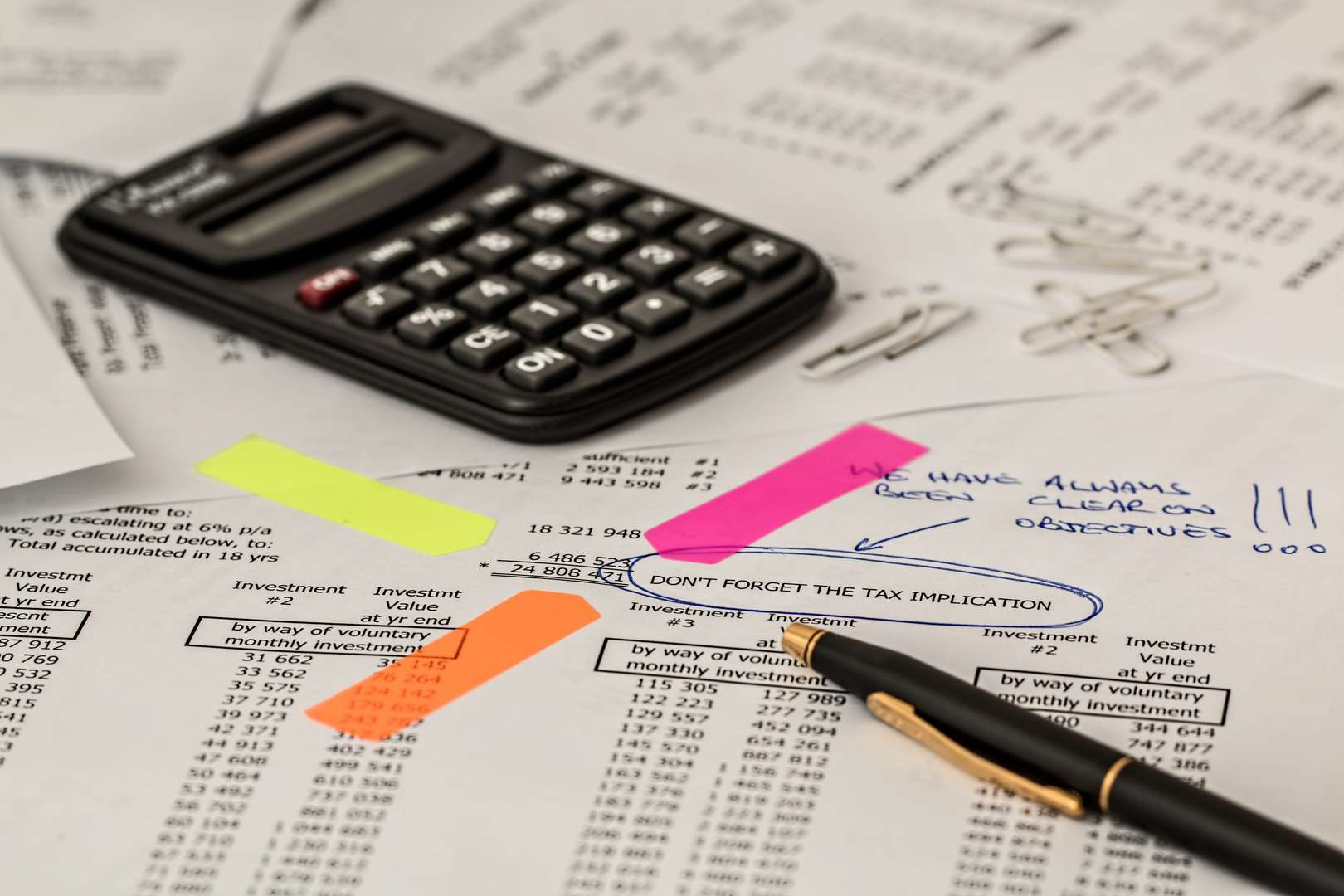 Tax Salvage Value
