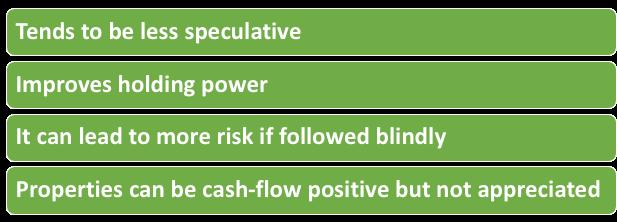Properties of Positive Cash Flow