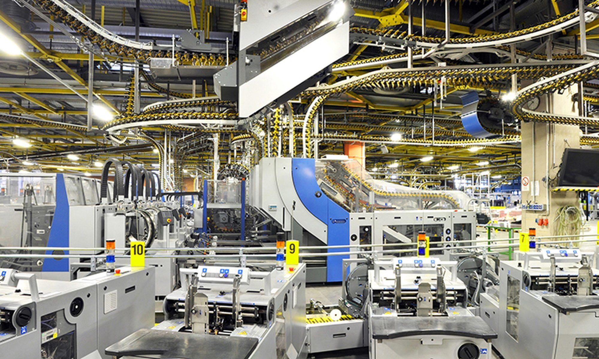 Automation of Logistics