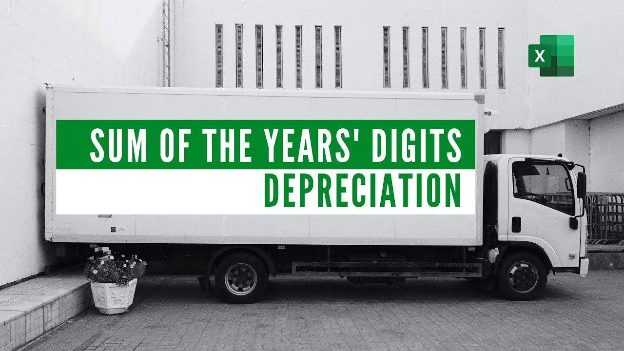 Sum of The Year's Digits Depreciation Model