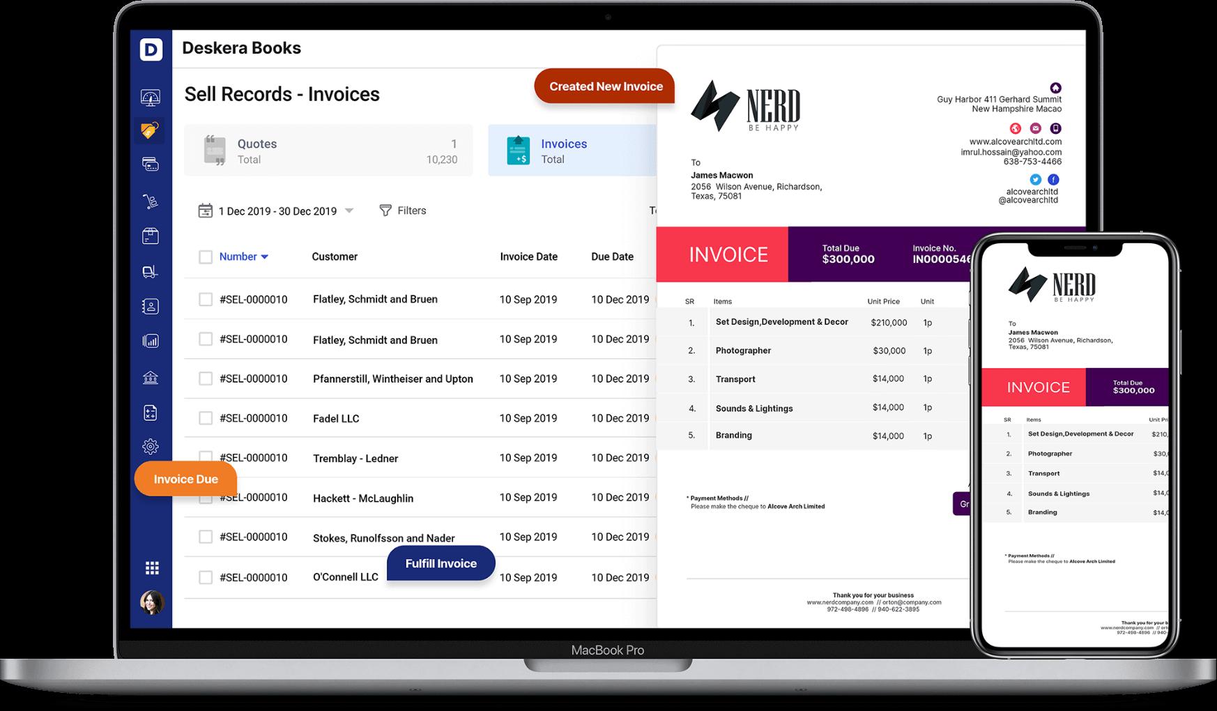 Deskera Invoices will Improve Cash Flow for Your Business