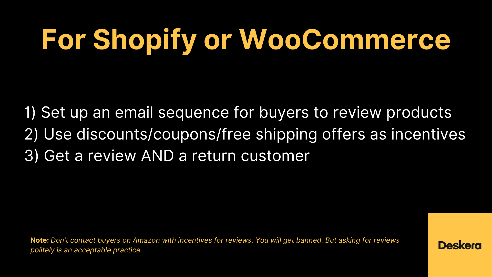 How to Get Product Reviews on Shopify or WooCommerce ?