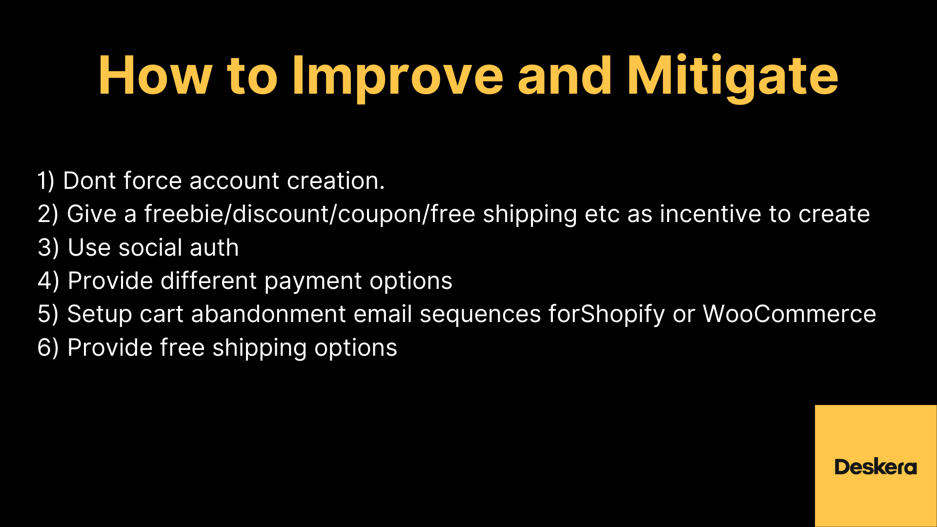 eCommerce Tips to Improve Sales of Your eCommerce Business by Improving Checkouts and Payments