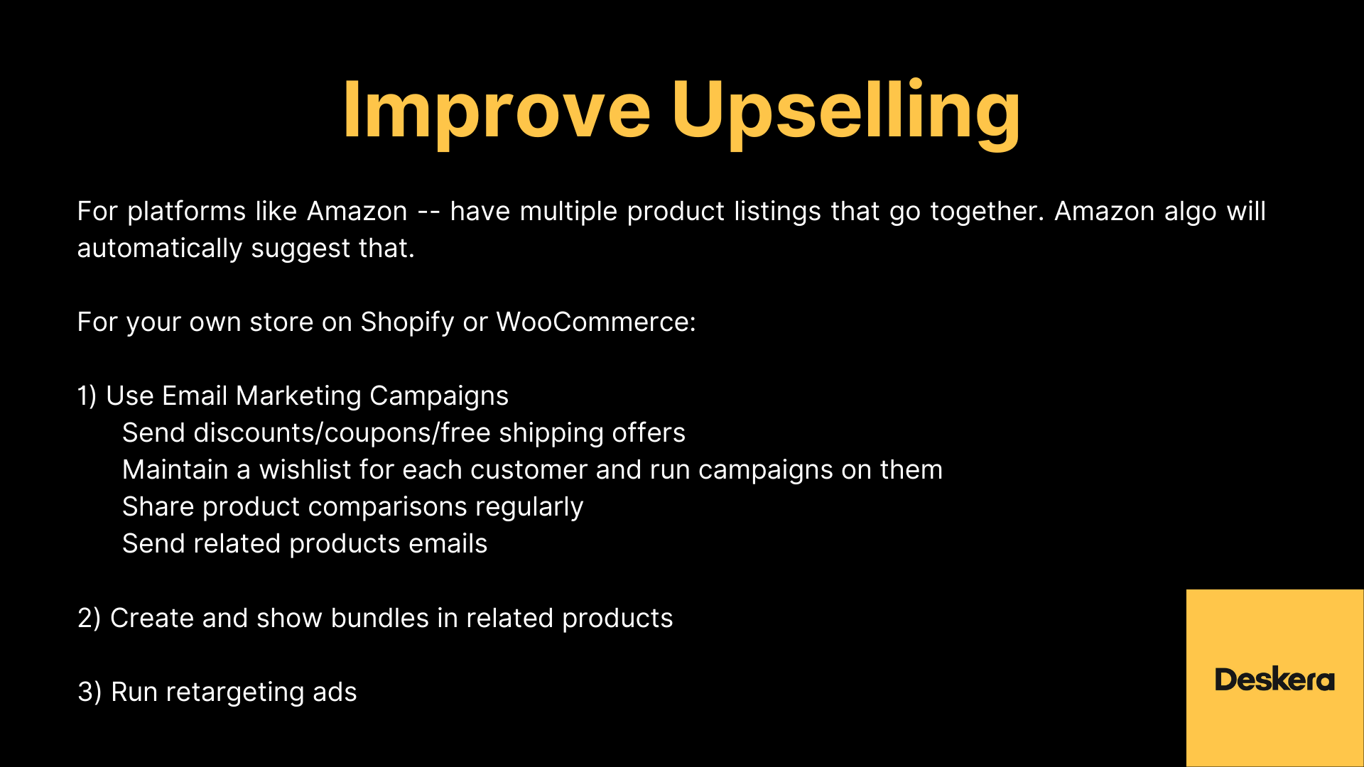 eCommerce Tips for Improving Upselling to Improve Sales of Your Business