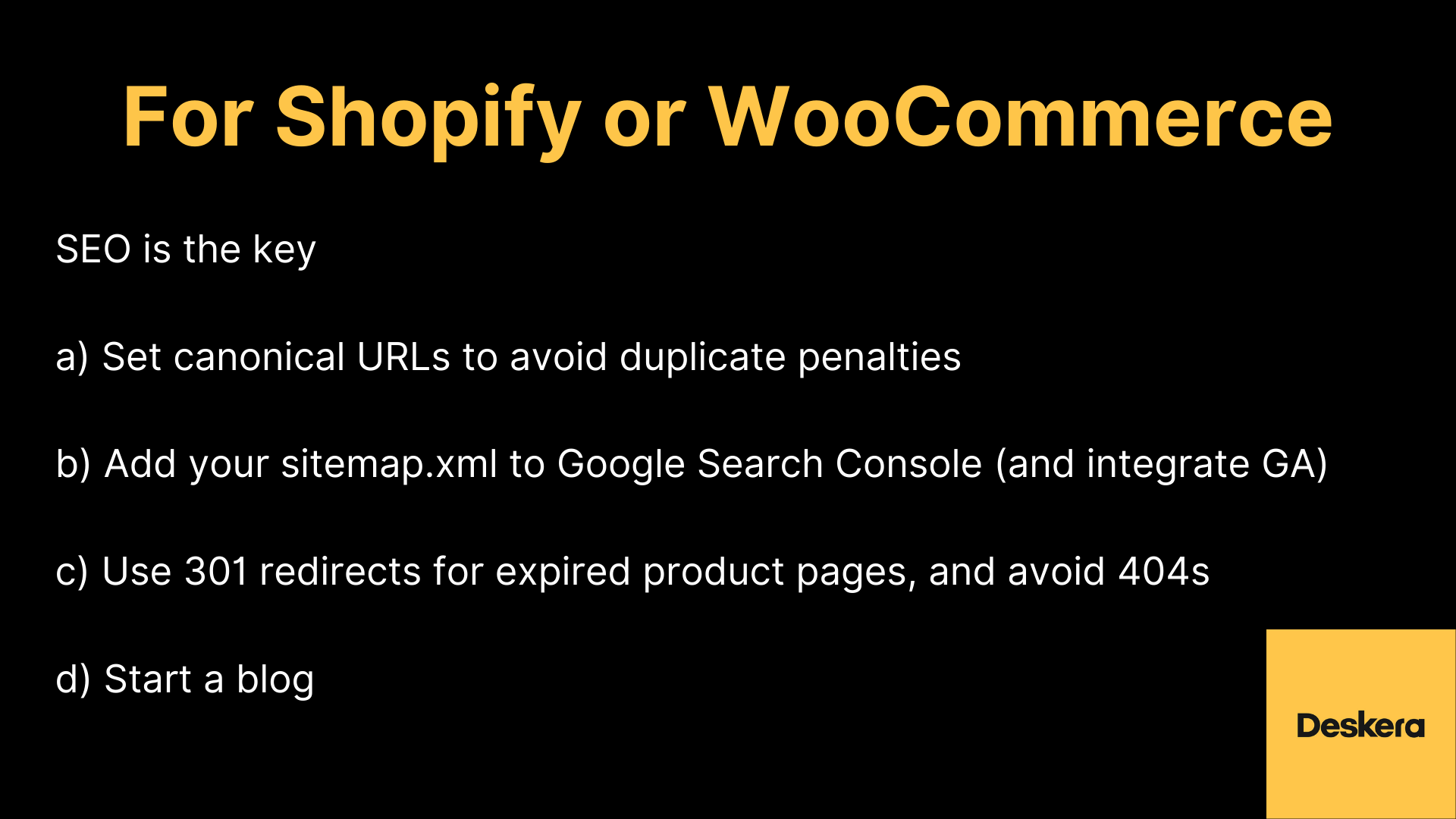 eCommerce Tip to Increase Visibility on Shopify or WooCommerce and Improve Sales of Your Business