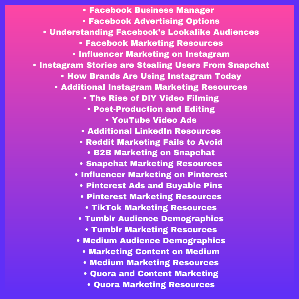 Social Media Platforms to Use