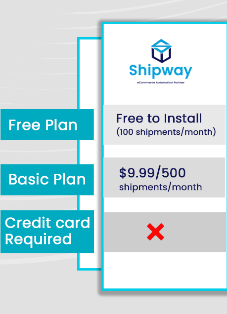 Pricing of Track Order by Shipway