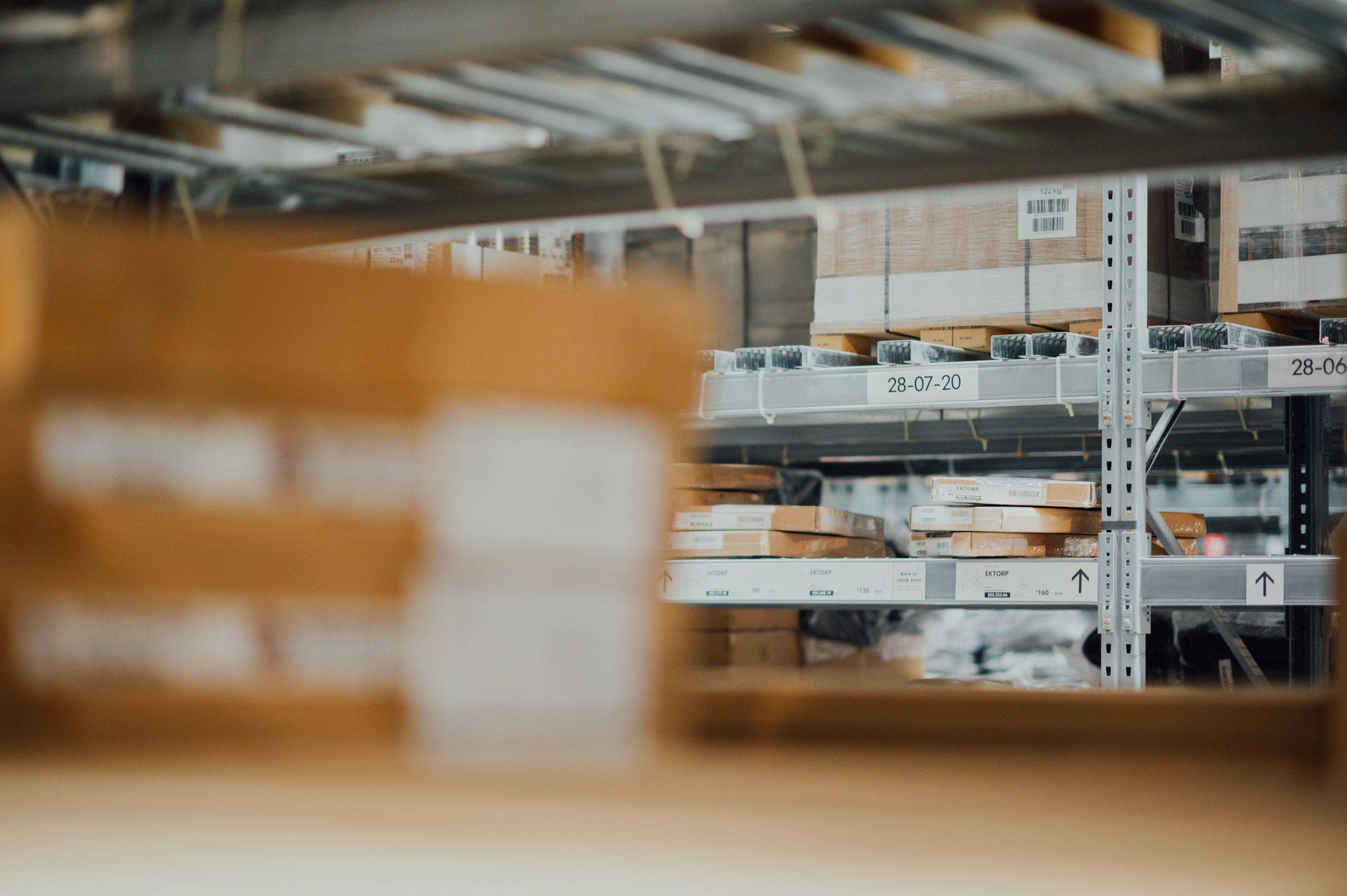 Storing Inventory is Part of eCommerce Fulfillment Process
