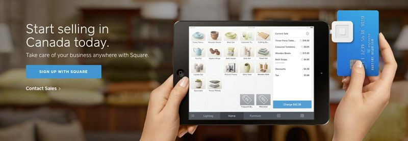 Square Product CTA Example