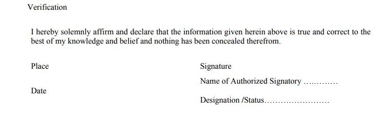 Authorized Signatory in GSTR 11
