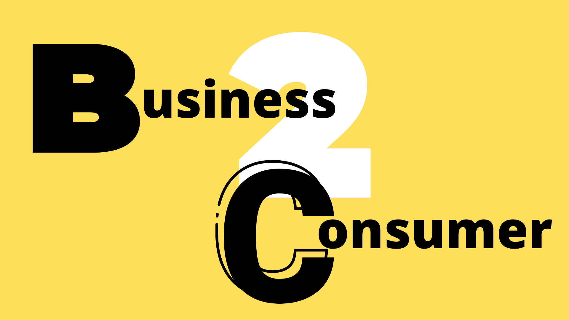 eCommerce business to consumer
