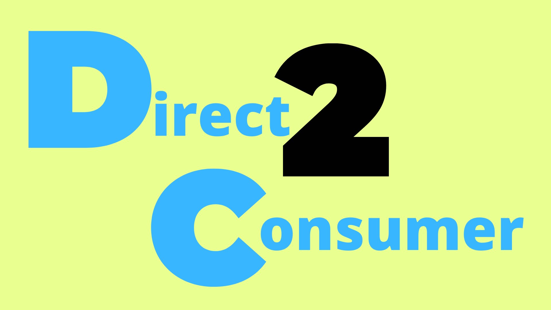 eCommerce direct to consumer