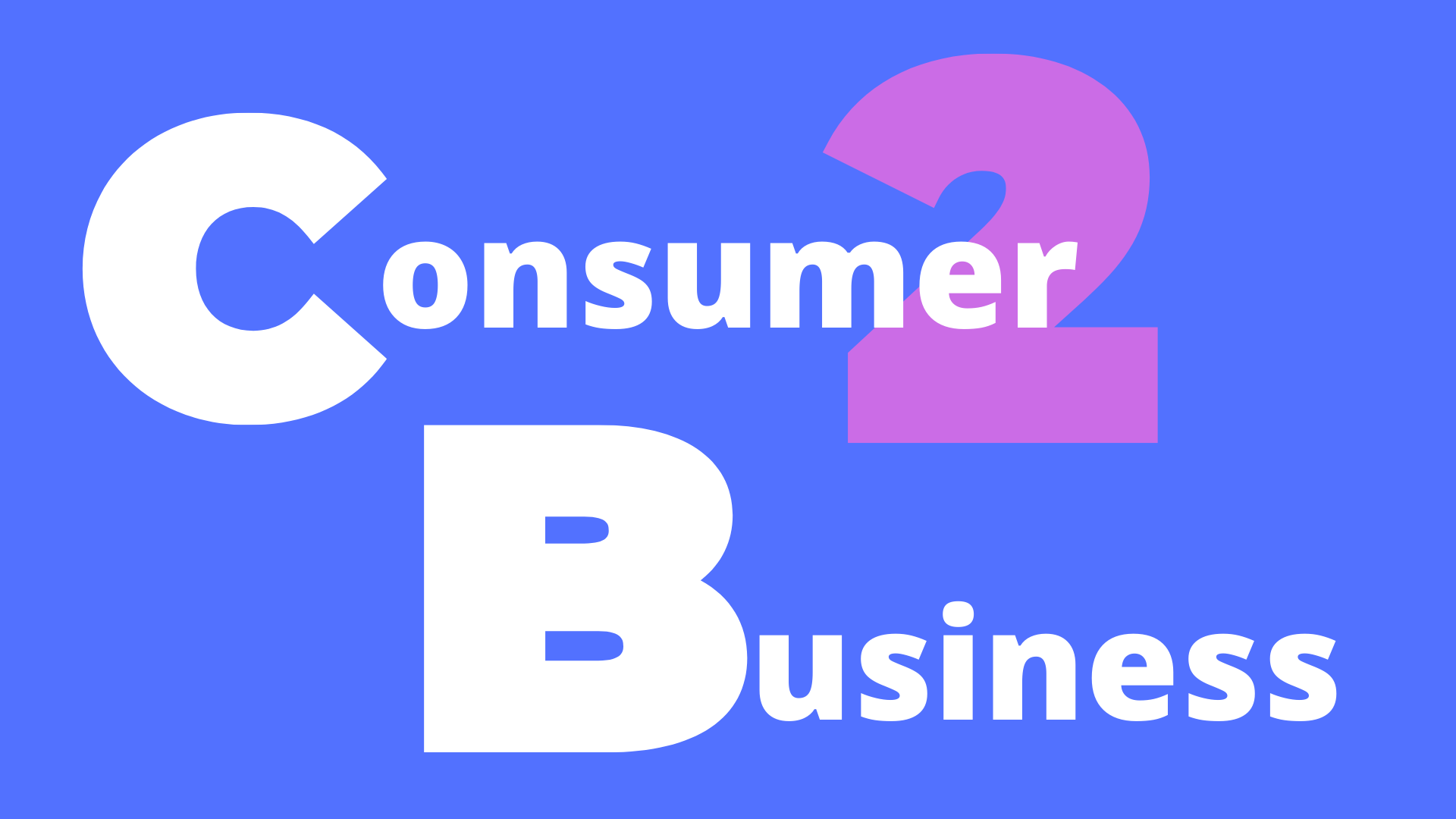 eCommerce consumer to business