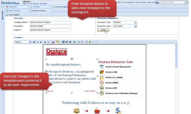 Change Email Design