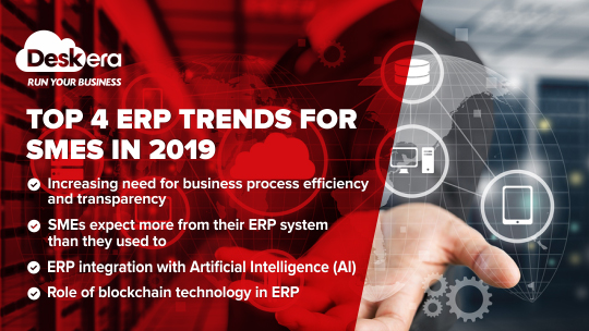Top four ERP trends for SMEs in the U.S.