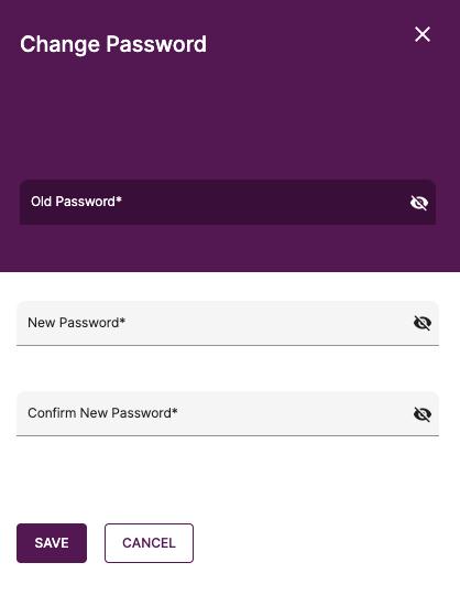 Reset your account's password here